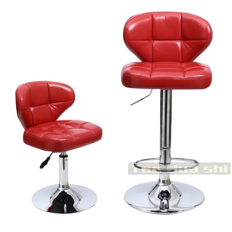 Bar Chair Creative Modern Simple Lift Chair Domestic Backrest Nordic Bar Mobile Shop Front Desk High Stool