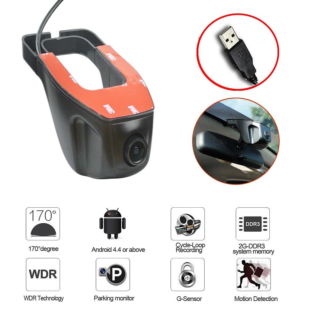 2019 neue adas USB Auto DVR Kamera Fahren Recorder HD 720P Video Recorder Für Android 6.0 5,0 4,4 DVD GPS player usb DVR Kamera