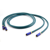 Pair Symphonic Line Reference HD Interconnect cable audio RCA cable with WBT 0110Cu connection plugs