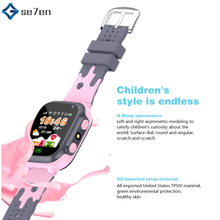 Kids Smart Watch GPS Tracker Smartwatch Kids 2g Watch Phone Video Call Waterproof Smart Watch for Child Clock PK Q50 Q90