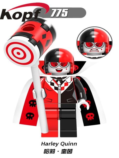 Single Sale Super Heroes Hawkgril Captain Boomerang Pocka-Dot Man Building Blocks Bricks Action Toys For Children X0181Model Building