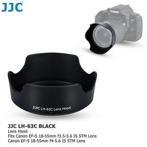 Image 1 - Lens Hood Canon EOS 90D 80D 70D 77D, canon EF S 18 55mm f/3.5 5.6 is STM, canon EF S 18 55mm f/4 5.6 is STM değiştirir EW 63C