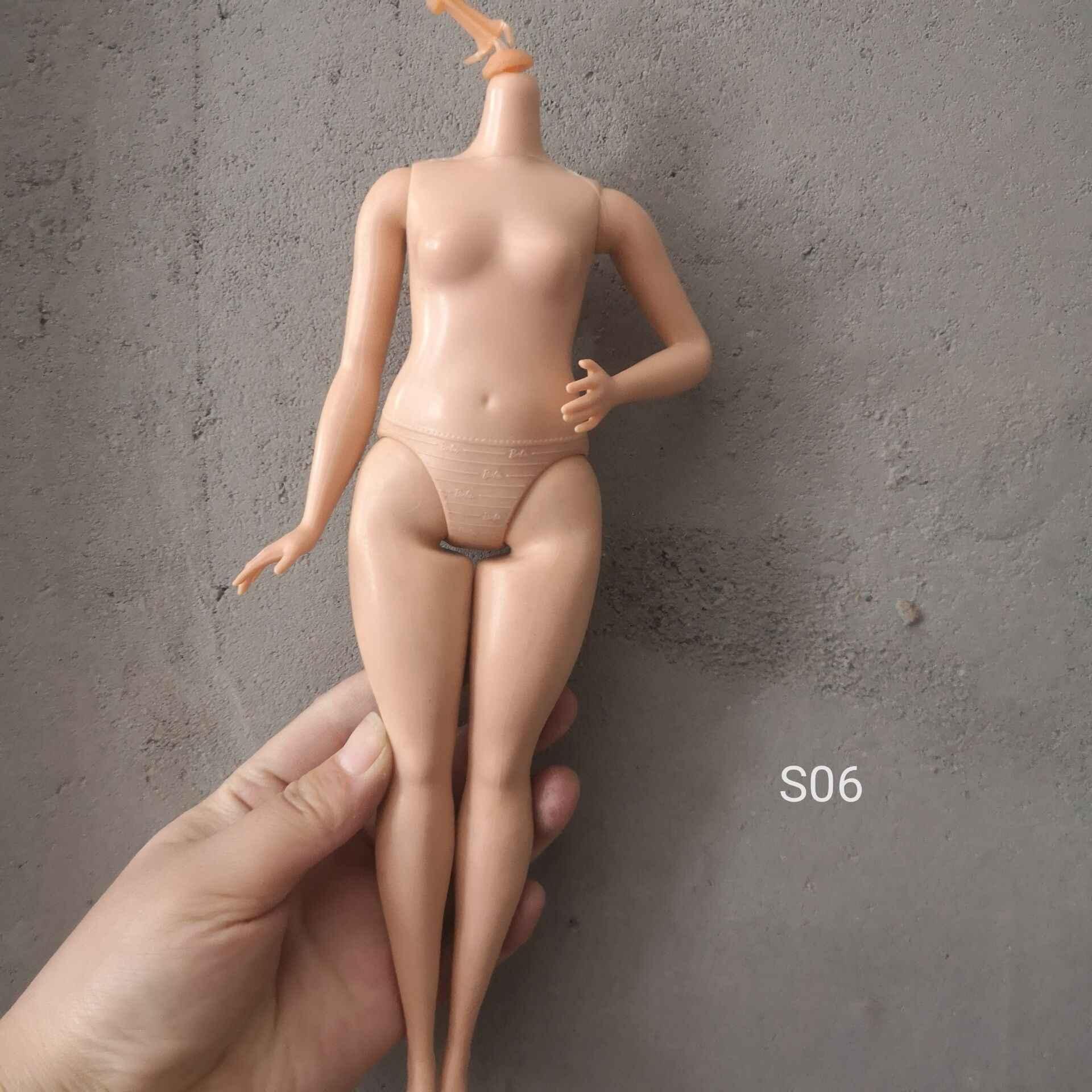 الأصلي الإناث Ferritic عارية عارية ل باربي BJD إكسسوارات دمي بدون رئيس اللعب اكسسوارات الاطفال اللعب