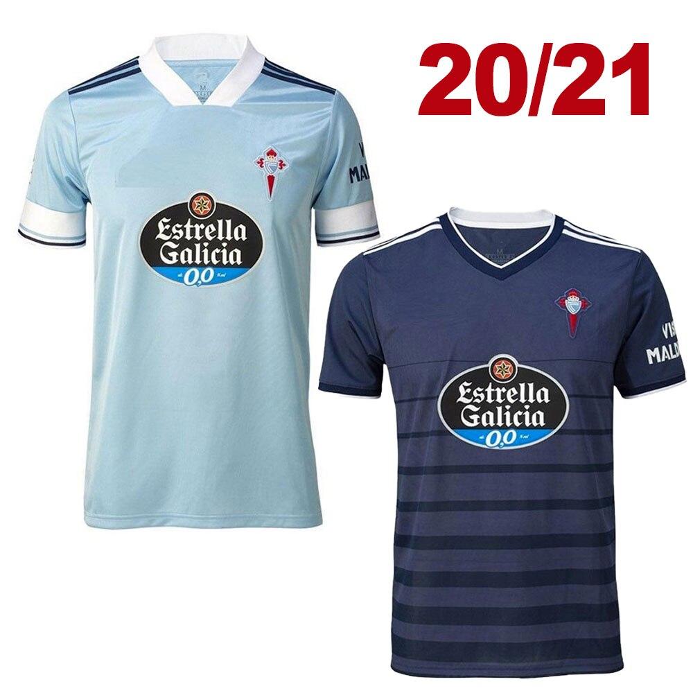 2020 2021 Celta Vigo camiseta de fútbol local visitante Iago Aspas Adult RAFINHA Gomez Sisto HUGO MALLO camiseta de futbol camisetas 20 21 camiseta de fútbol|Camisetas para correr| - AliExpress