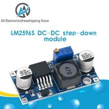 LM2596s DC DC понижающий модуль питания 3A Регулируемый понижающий модуль LM2596 регулятор напряжения 24 в 12 В 5 в 3 в