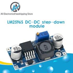 Image 1 - LM2596s DC DC понижающий модуль питания 3A Регулируемый понижающий модуль LM2596 регулятор напряжения 24 в 12 В 5 в 3 в