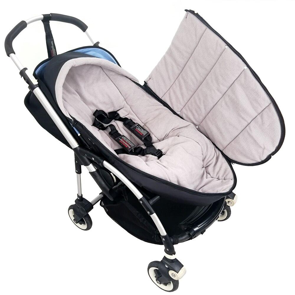 Купить с кэшбэком Winter Sleeping Bag Windproof Cover For Stroller Warm Sleepsacks Footmuff Cover Baby Blanket Swaddling Warp 3~24M