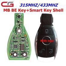 Cgdi chave remota inteligente para mercedes para benz suporta bga 315mhz ou 433mhz botões apoiar todos os fbs3 e recuperação automática