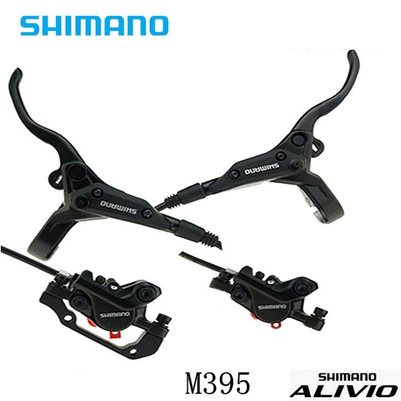 SHIMANO Acera M395 M396 MTB Hydraulic Disc Brake Set W//o Rotors A Pair G3//HS1