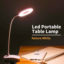 Duutoo 3 цвета настольная лампа светодиодный сенсорный затемняемый
