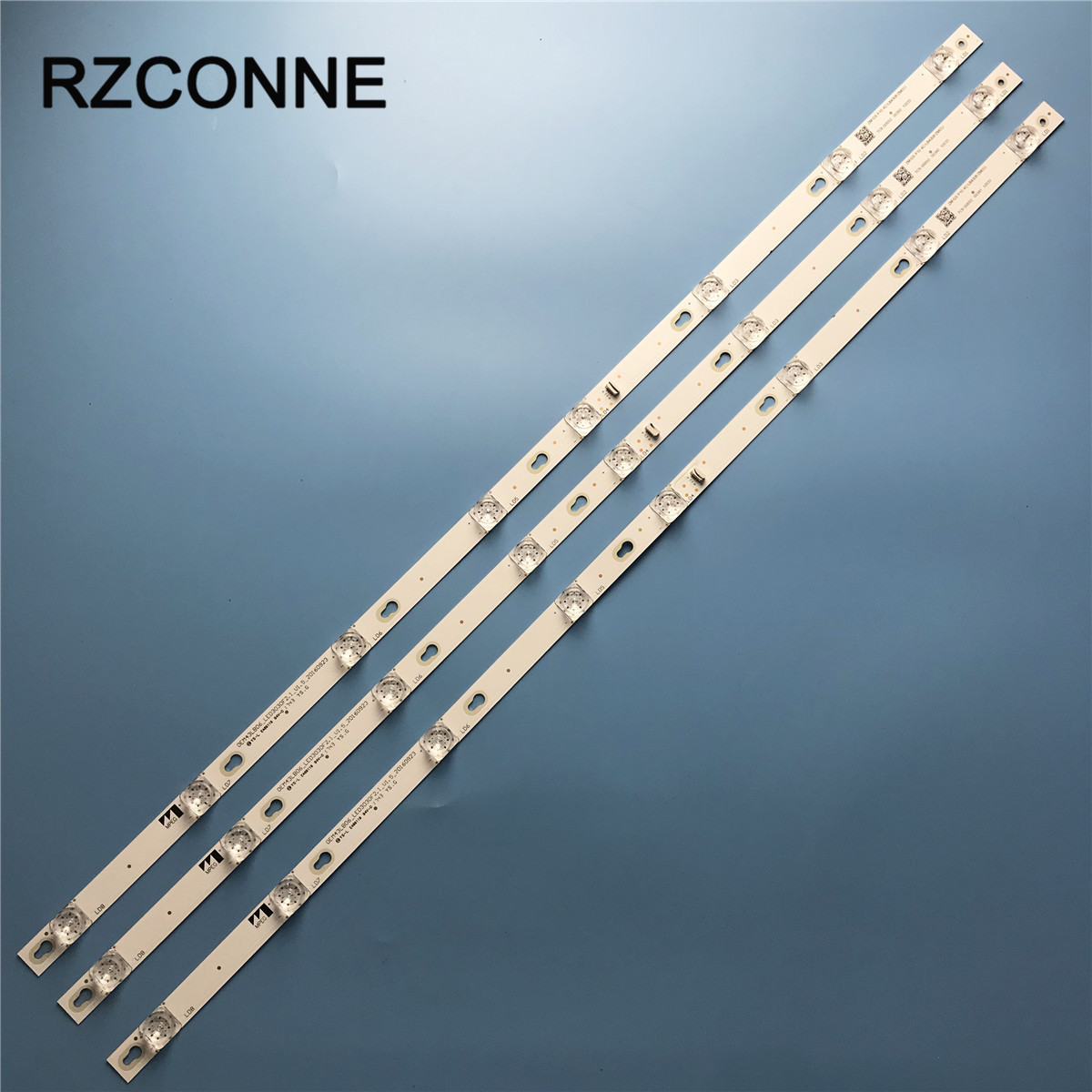 LED Backlight Strip 8 Lamp For TCL TOT_43D2900_3X8_3030C YHF-4C-LB4308-YH09J YHA-4C-LB4308-YH05J 43S305TABA 43S303 43DP608
