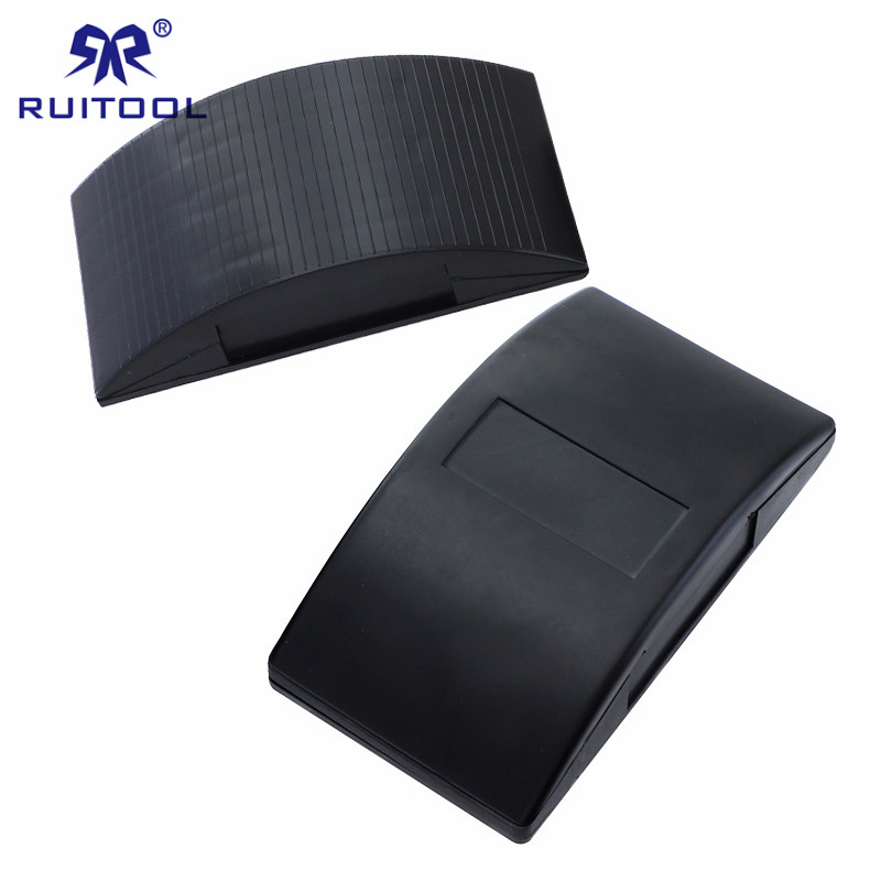 1pc Sandpaper Holder Rubber/Plastic Sanding Pad Removable Back Handheld Sanding Block Polishing Tools