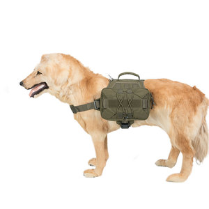 Image 5 - ممتاز النخبة المفك الكلب حزمة المشي لمسافات طويلة على ظهره الكلب السرج حقيبة للتخييم متوسطة وكبيرة الكلب مع 2 الجانبين واسعة Pock