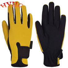 HYHG Polo Racing Gloves Adult Children Riding Non-slip Breathable Gloves Unisex Knight Gloves Adult Gloves Equestrian Supplies