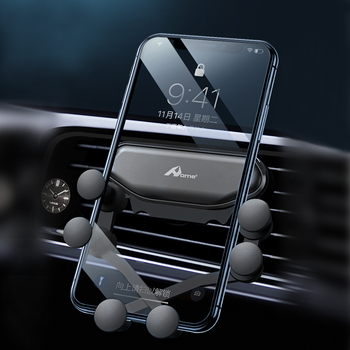 Air Vent Car Phone Holder Gravity Mount Universal Cell Phone Holder Stand Plastic Clip in Car for Iphone Xr 11 Samsung Xiaomi