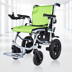 Electric Wheelchair Folded Light Wheel Chair Electric Fashionable Power Wheel Chair For Disabled Old People Walk Chair