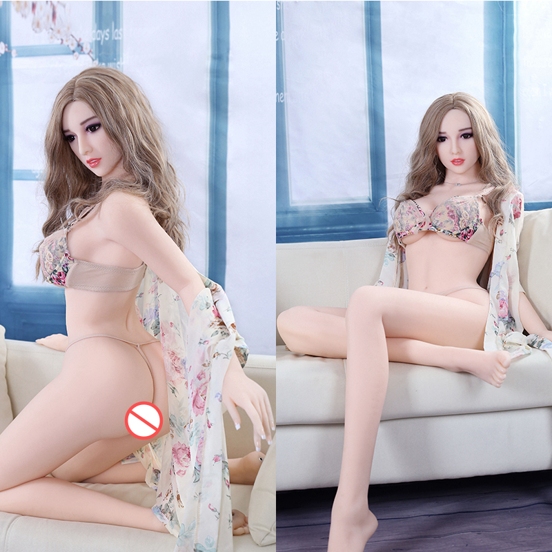 <font><b>165cm</b></font> Real Silicone Love <font><b>Tpe</b></font> <font><b>Sex</b></font> <font><b>Dolls</b></font> Realistic <font><b>Sex</b></font> Toys For Men Vagina Tits Sexy Big Pussy Boobs Inflatable Loli Rubber Woman image