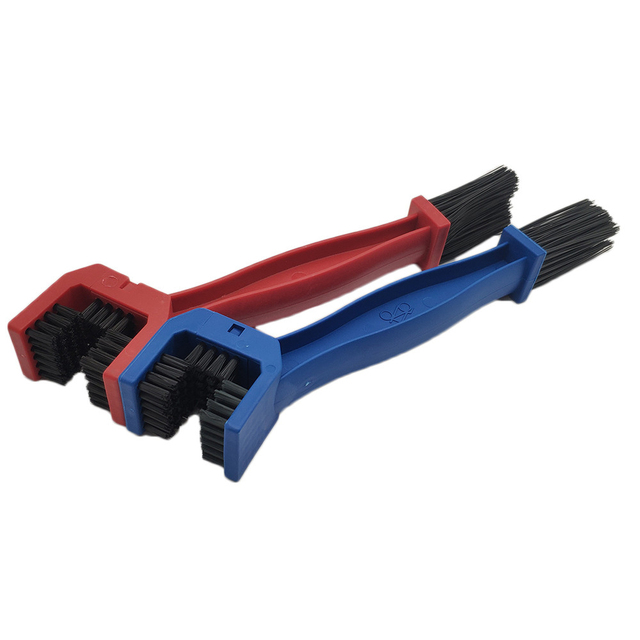 Universal Motorcycle Chain Brush Gear Dirt Outdoor Cleaner Scrubber Tool For Honda VF R 750 800 VTR1000F CBR 125 300 500 R F FA