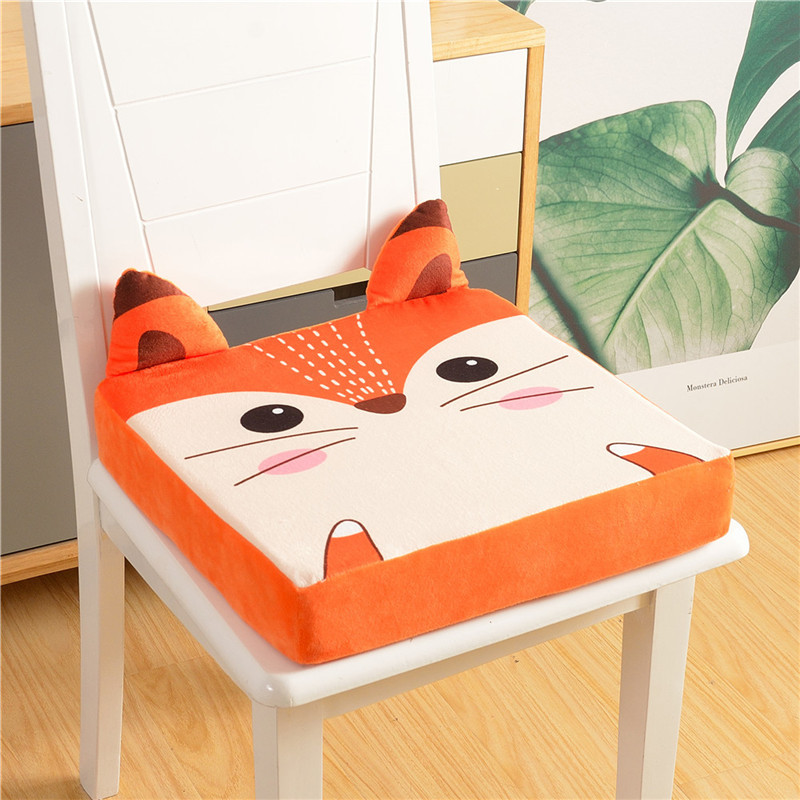 Kids Cartoon Increased Chair Pad Soft Baby Dining Cushion Adjustable Removable Student Seat Chair Booster Cushion Pram Chair Pad