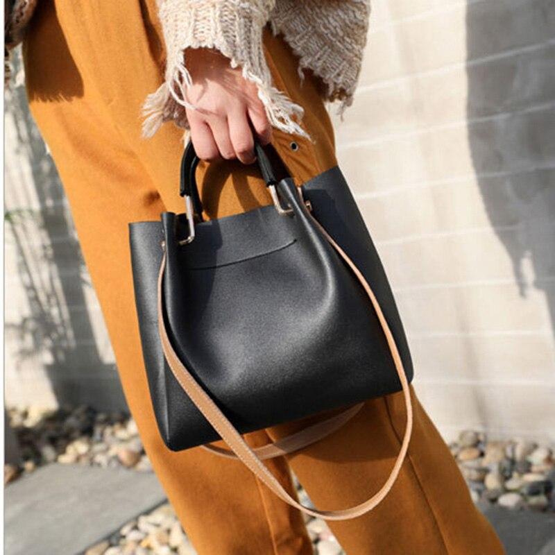 Women Lady Handbag Shoulder Bag PU Leather For Mobile Phone Keys Money Shopping K-BEST