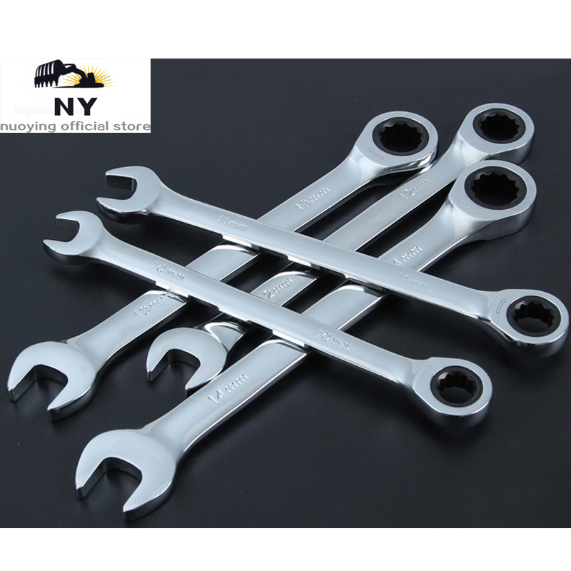 5Pcs O Type ER11 ER16 <font><b>ER20</b></font> ER25 ER32 Key Tool Holder <font><b>Wrench</b></font> For CNC Machine Tightening image