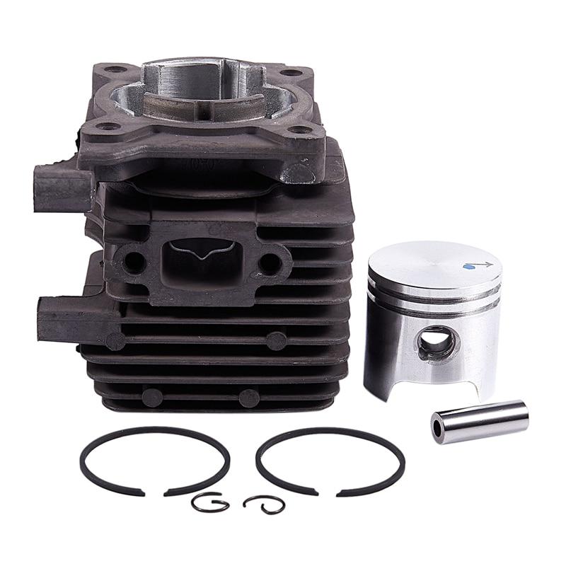 Cylinder Piston Kit 34Mm for Stihl FS55 FS45 BR45 HL45 Trimmer # 4140 020 1202 Gasoline chain saw Accessories  lawn mower parts