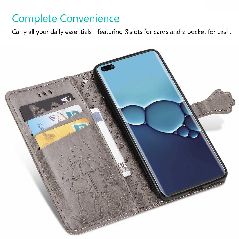 Đơn Giản Chó Wallet Flip Dành Cho Coque Samsung A50S Silicone Csse Lưới Trường Hợp SFor Etui Samsung Galaxy Telefon A50 a30S