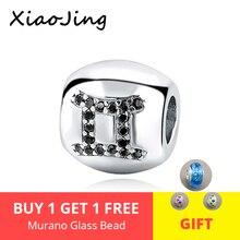 Hot Sale Genuine 925 Sterling Silver 12 Constellation Charm Bead Fit Pandora Bracelet DIY Jewelry for Gift free shipping lancome sourcils definis карандаш для бровей 05 брюнет