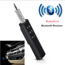 Bluetooth Receiver Car Bluetooth AUX 3.5mm Music Bluetooth Audio Receiver Handsfree Call Car Transmitter Auto Adapter