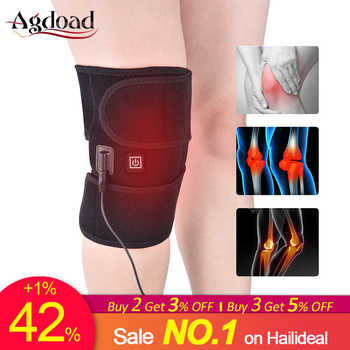 AGDOAD Arthritis Knee Support Brace Infrared Heating Therapy Kneepad for Relieve Knee Joint Pain Knee Rehabilitation Dropship - DISCOUNT ITEM  45% OFF All Category