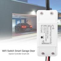 WiFi Electric Garage Door Gate Opener Switch Controller Timing Voice Control Authorize Multiple People Access Your Garage