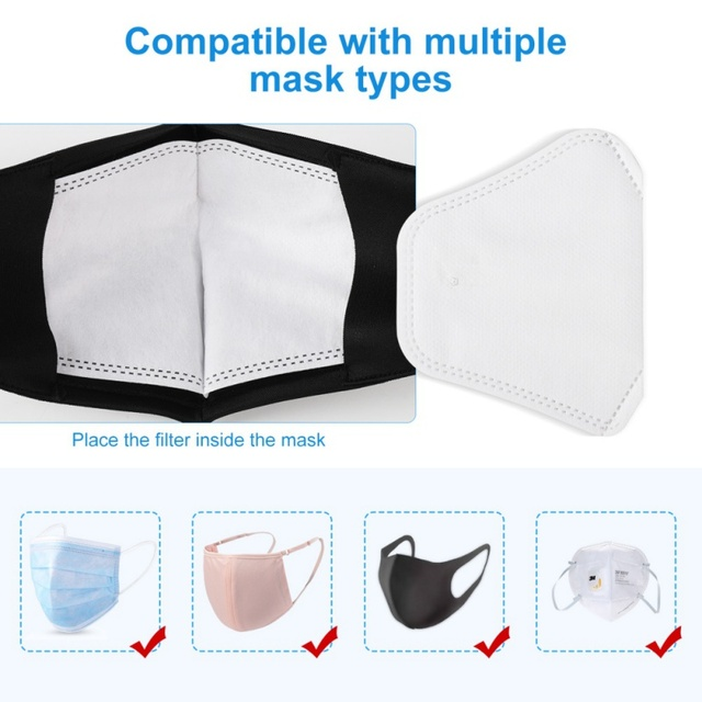 Non-woven PM2.5 mouth Mask anti dust mask Activated carbon filter Windproof Mouth-muffle bacteria proof Flu Face masks 2