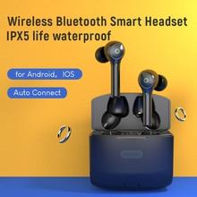 터치 이어폰 TWS AirdotPro 용 무선 헤드폰 Bluetooth 이어폰 핸즈프리 헤드셋 Redmi Note 8 Pro 용 스테레오 이어 버드