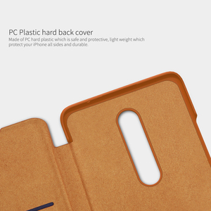 Image 5 - For OnePlus 8 Case NILLKIN PU Flip Smart Case For OnePlus 8 Pro Cover Wallet Leather Case