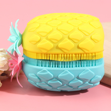 Scrubber Sponges Spa-Brush Bathroom-Accessory Shower Washing-Silicone-Pad Exfoliating-Body-Skin