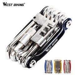Multifunction Bicycle Bike Repair Tools Steel 10 in 1 Kit Herramientas Bicicleta Cycling Folding Wrench Ferramentas Bike Tools