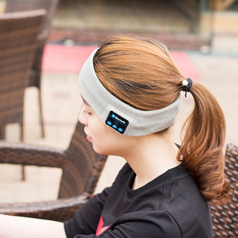 Bluetooth5.0 Music Warm Beanie Hat Wireless Smart Cap Headset Headphone Speaker Mic Wireless Earphone Beanie