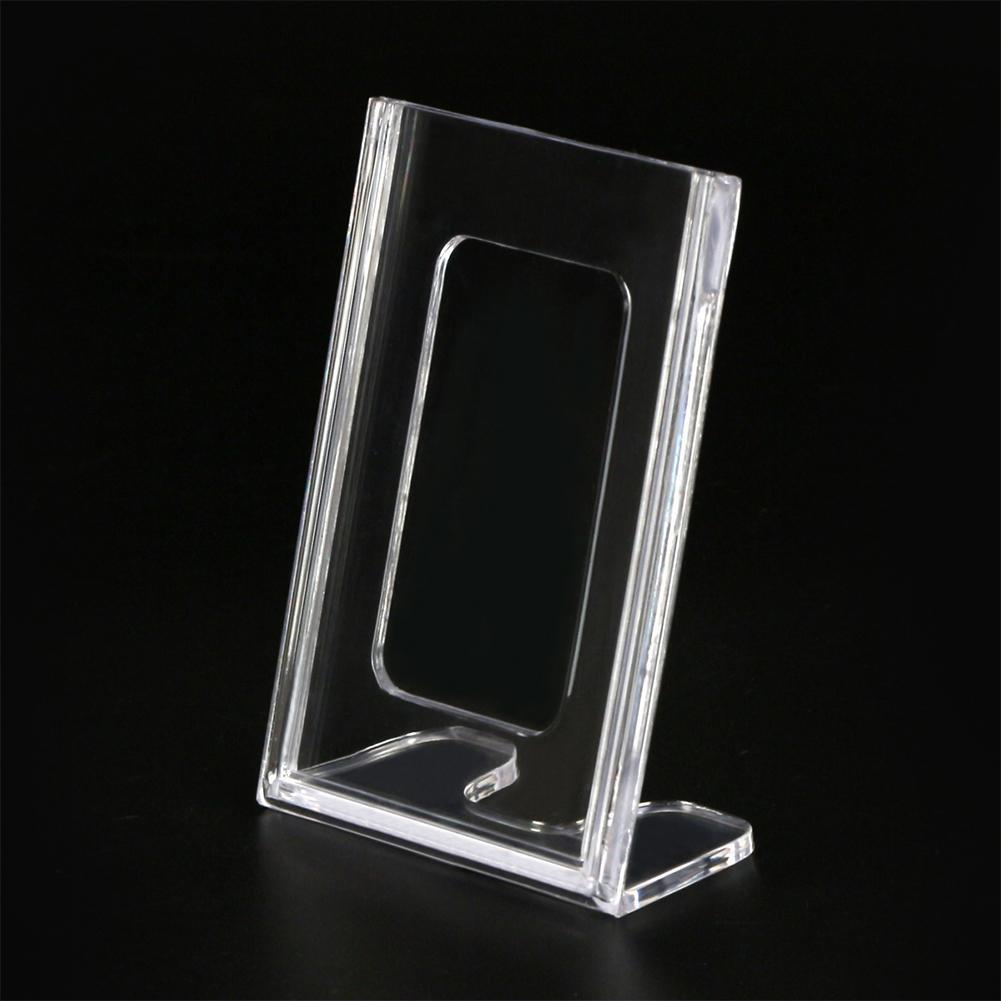 New Acrylic Card Holders Meeting Desk Label Card Frame Transparent Desk Sign Price Label Display Stand Business Office Supplies