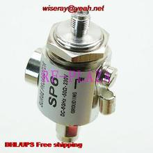 DHL/EMS 10pcs protection shield Arrestor protector 0-6GHZ 50Ohm DC-230V RPSMA male to female Coaxial-Lightning arrester-A6