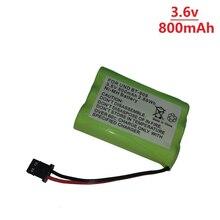 3,6 v Перезаряжаемые беспроводной телефон батарея для uniden BT-909 BT909 3 * AAA металл-гидридных или никель 800 мА/ч, 3,6 V аккумуляторные батареи
