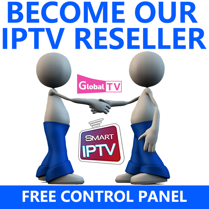 Le panneau de commande World IPTV avec crédits contient 4500 + en direct pour les revendeurs IPTV IPTV M3U Nederlands nordique Switherlands linux iptv