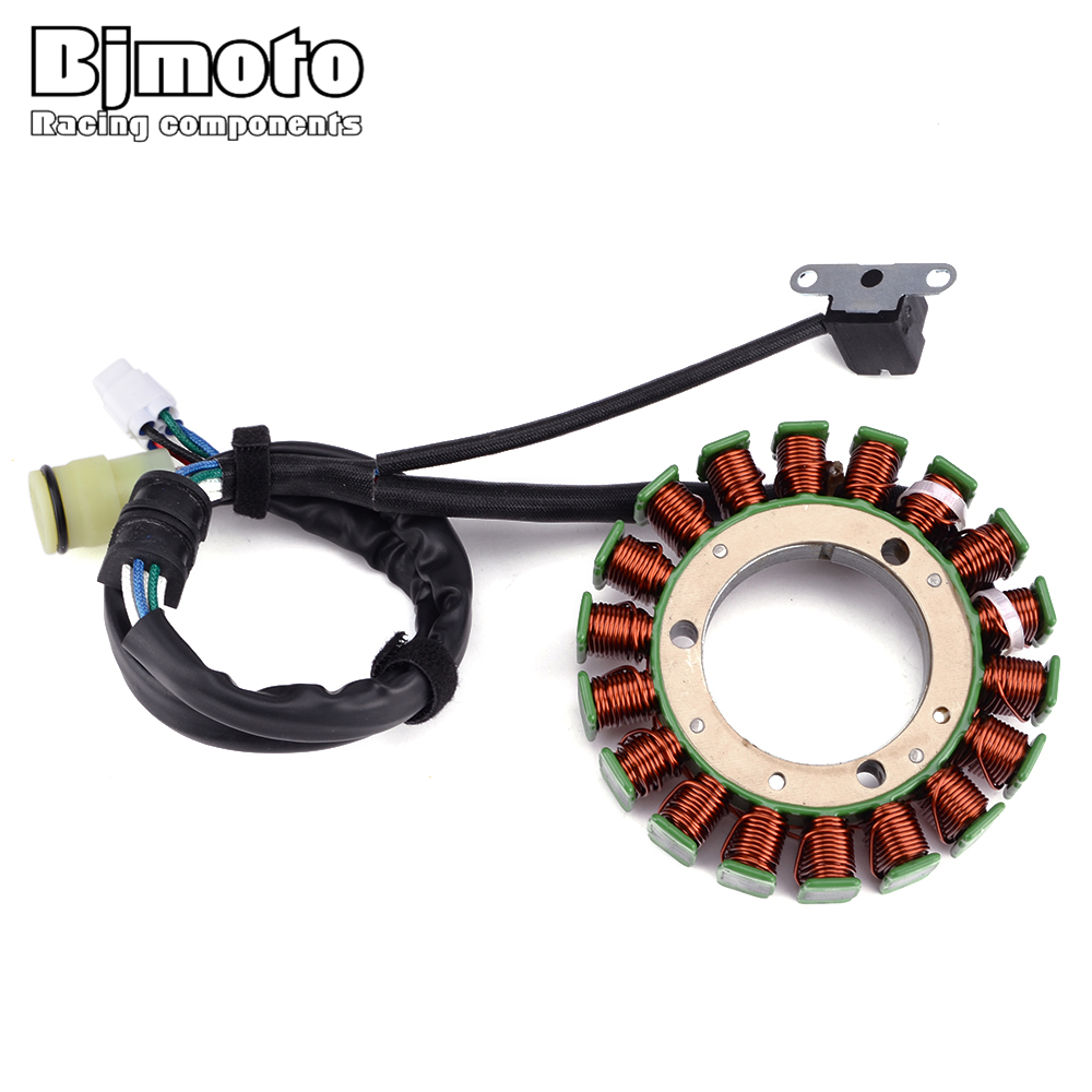 Engine Stator Ignition Coil For Yamaha YFM350 A/FWA YFM400F YFM450 FWA YFM660 <font><b>FA</b></font> Grizzly 350 <font><b>400</b></font> 450 660 IRS Hunter 2WD/4WD image