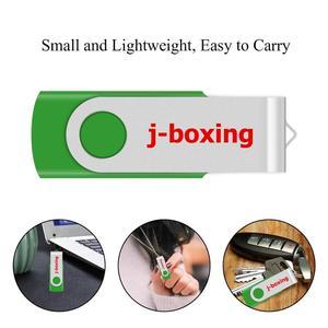 Image 5 - J boxing USB Storage Flash Drives 64MB 128MB Small Capacity Pendrive 256MB 512MB Metal Thumb Drives USB 2.0 Memory Green 10PCS