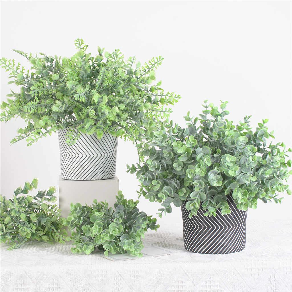 1 шт. пластиковое искусственное растение держатели Висячие трава домашний сад оформление балкона стены