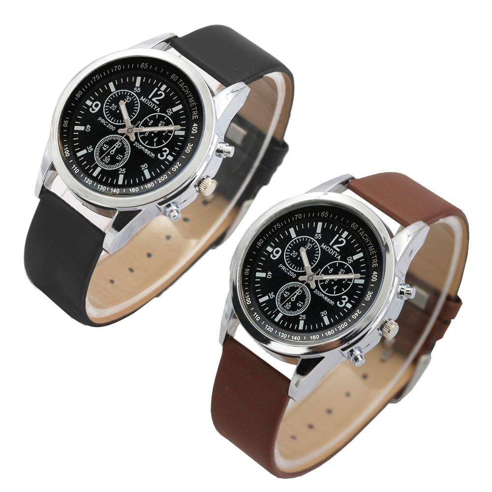 DUOBLA Watch Men Mens Watches Top Brand Luxury Wristwatch Quartz Wristwatches Fashion Blue Glass Men's Watch Relogio Masculino