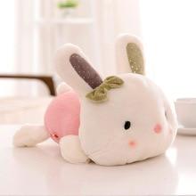20CM cute rabbit plush toy filled soft rabbit doll baby children toy animal cute rabbit girl toy plush gift birthday gift 55 30cm japanese soft sister plush pillow cute rabbit ribbon cushion wave rabbit plush toy for baby gifts