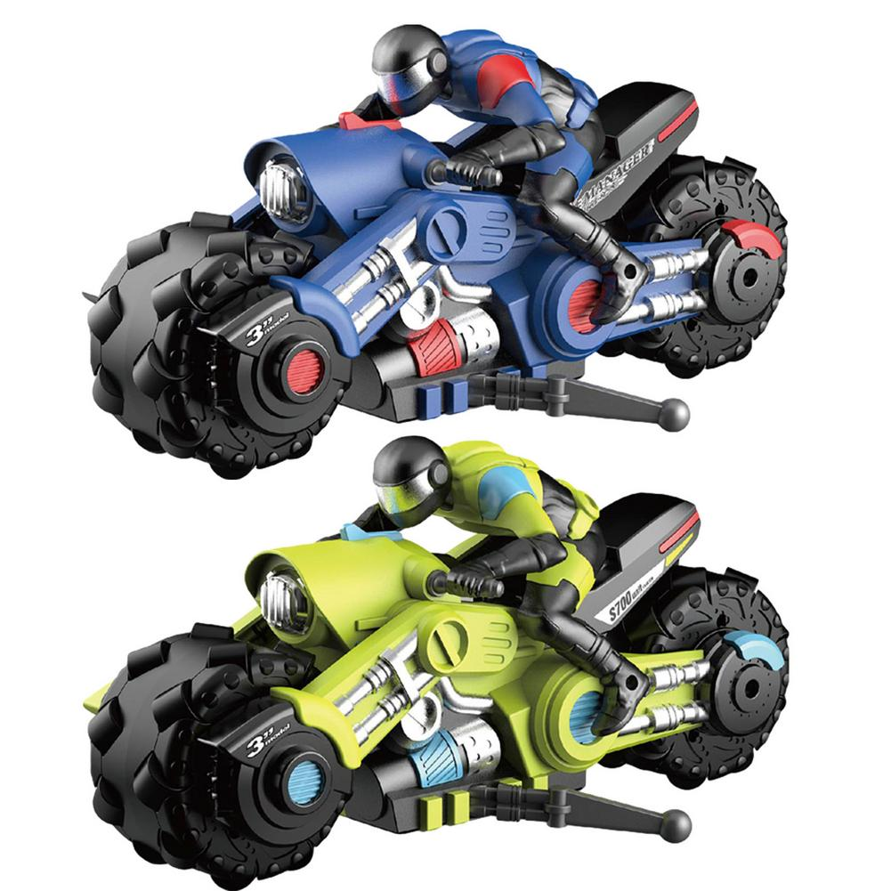 New Stlye 1:10 Stunt Motorcycle Can Be Rotated And Drifted In Two Colors Cool Look Best Gift For Boys