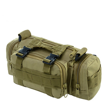 High Quality Outdoor Military Tactical Backpack Waist Pack Waist Bag Mochilas Molle Camping Hiking Pouch 3P Chest Bag 1
