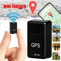 Neue Mini GPS Tracker GF07 GPS Locator Aufnahme Anti-Verloren Gerät Unterstützung Remote Betrieb von Handy GPRS Tracking gerät