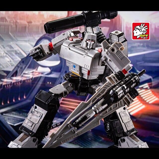 변환 G1 BPF BPF 02 KO Galvatron Megotroun Mgtron SIEGE 시리즈 탱크 모드 액션 피규어 로봇 수집 완구
